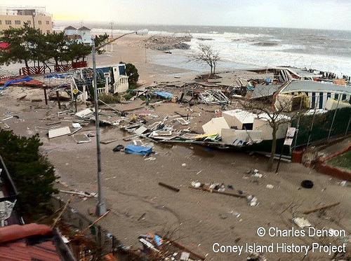 Eyewitness to Sandy on Coney Island,  Charles Denson, 2012