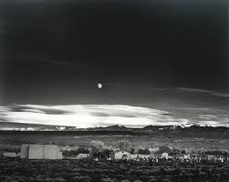 Ansel Adam's Moonrise, 1941, required many hours of darkroom work to produced the right tones.