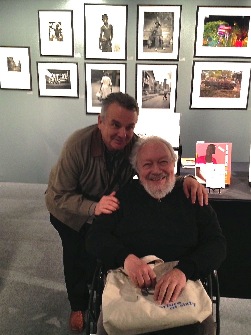 Here I am with Burt Finger from Photos Do Not Bend