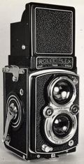 The Rolleiflex Automat, Model 3 was produced from 1945-1949. It was my very first camera.