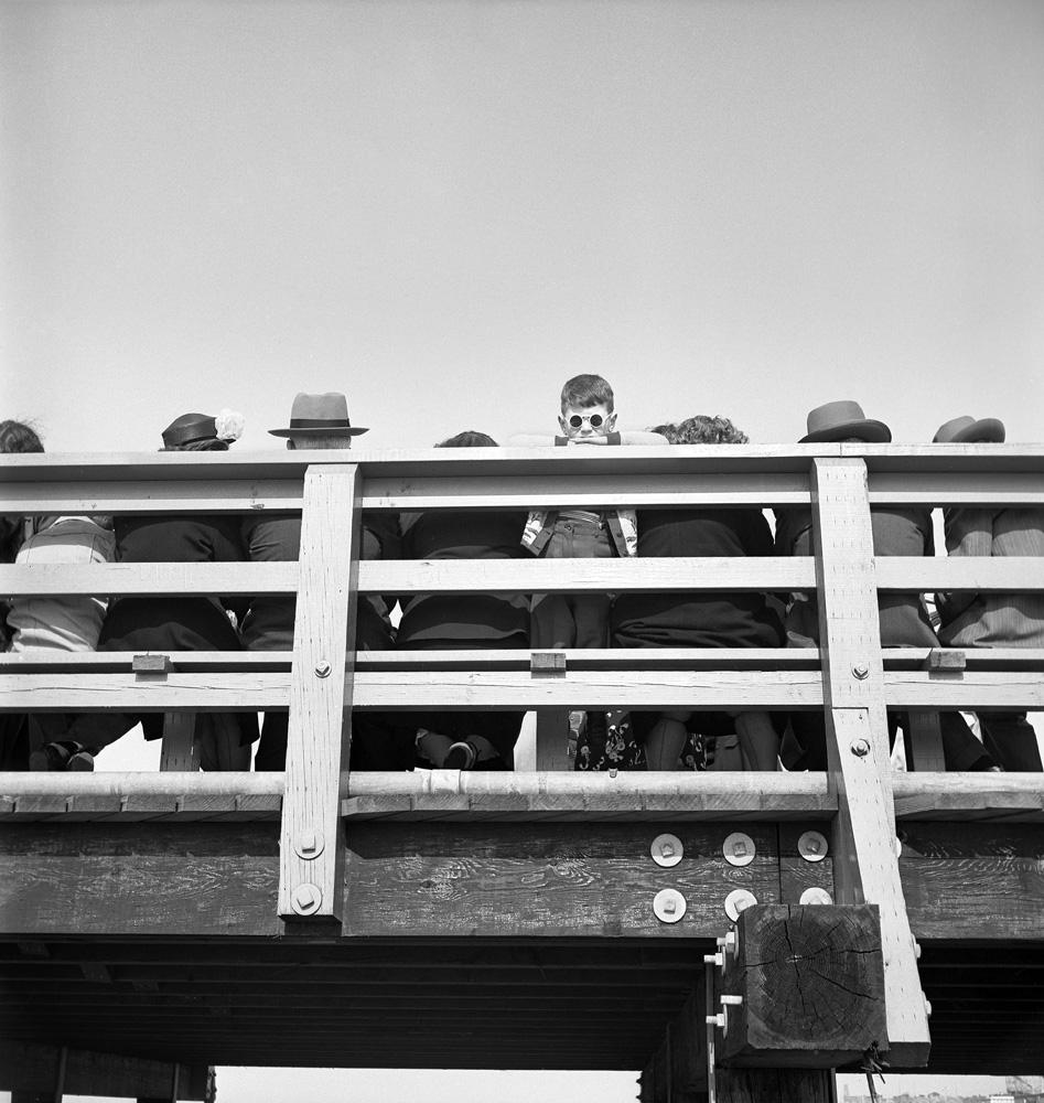 Boy in Sunglasses, Coney Island, 1949