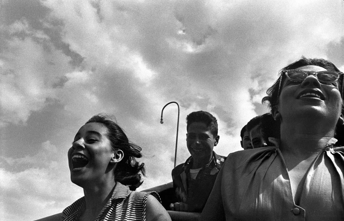 Girl on Cyclone, 1950