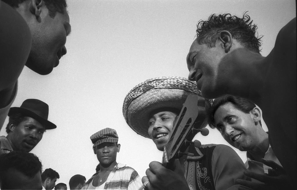 Beach musicians, 1950
