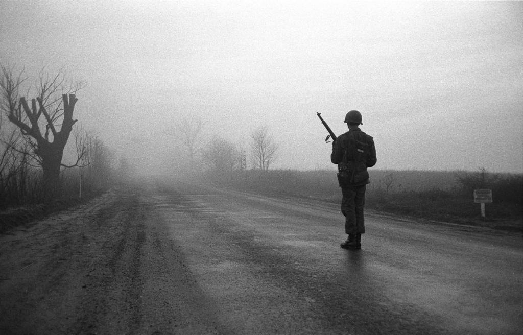 Standing Guard, Korea, 1953