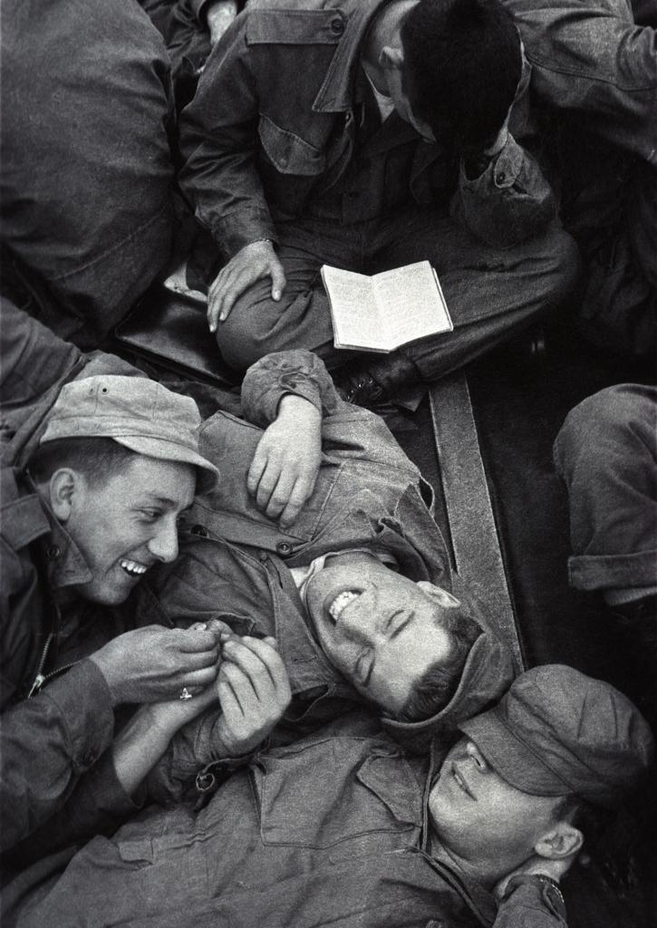 Making the best of it en route to Korea, 1952