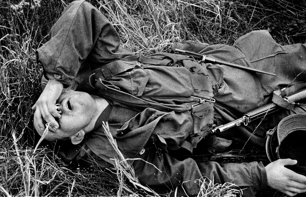 Exhaustion on the front, 1953