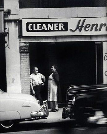 Street Scene, 1945 © John Albok