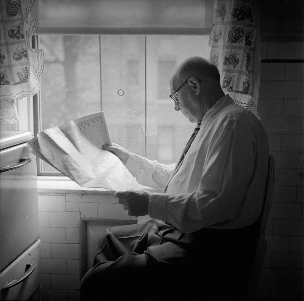 My father, Louis Feinstein, 1946