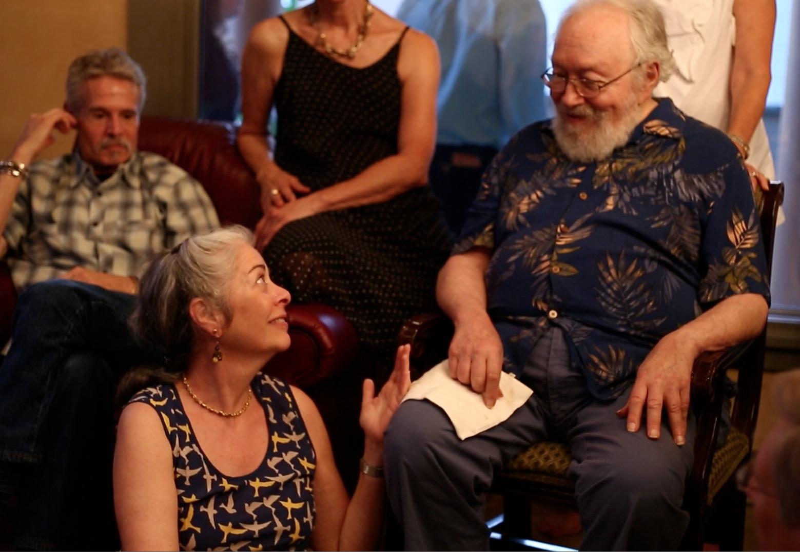 Deb Shapiro appreciates Harold