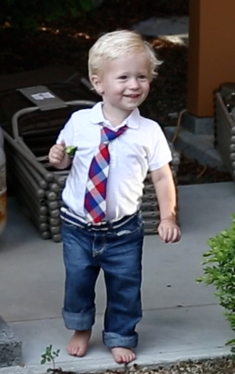 One of Harold's youngest fans,  Thompson Cooper, son of Shaler and Jason Cooper!
