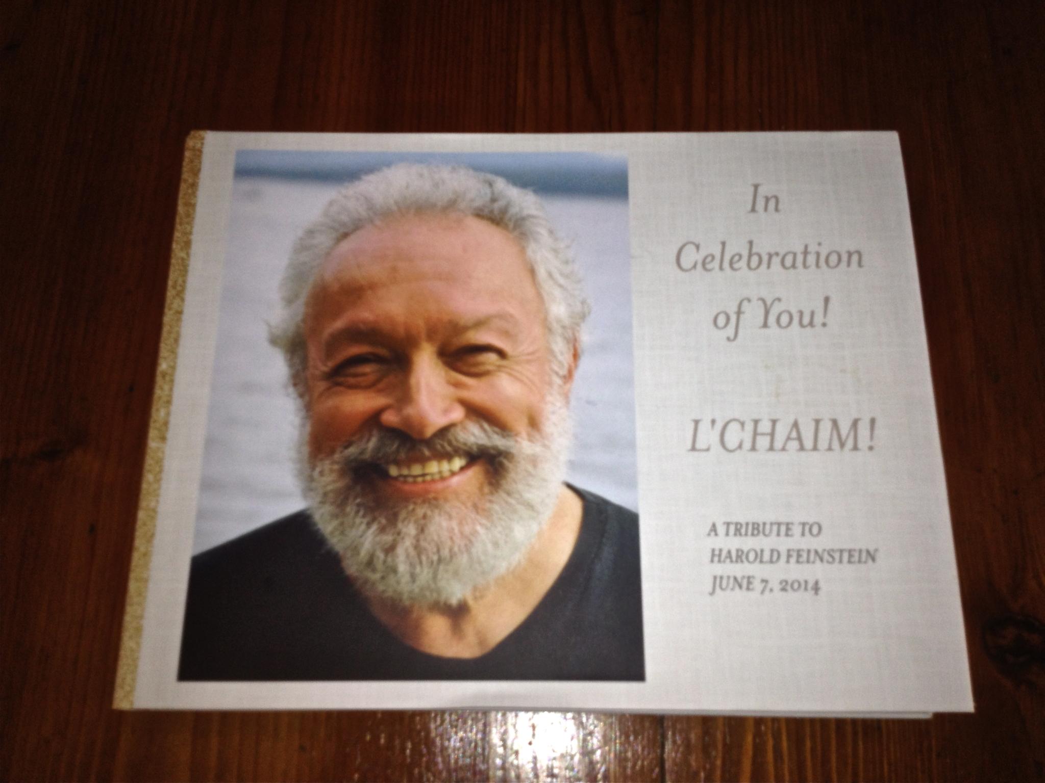 Harold's Tribute book!