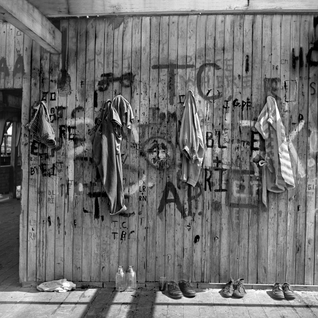 Swimming Hole Peep, Coney Island, 1949