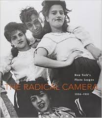 Sid Grossman's  photo (Coney Island, 1947) on cover of The Radical Camera,  monograph from the exhibition,