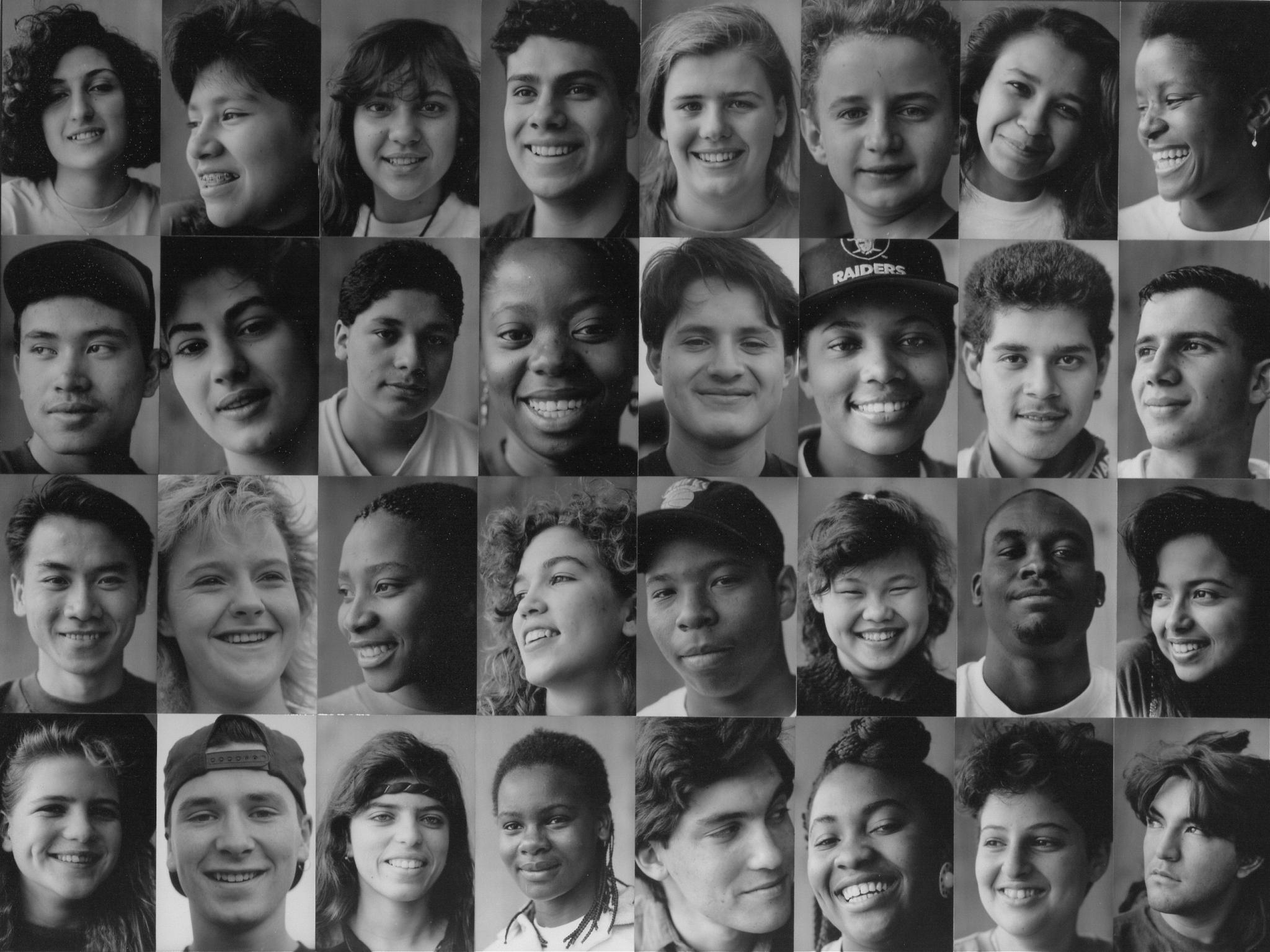 Children of War montage, 1993, © Harold Feinstein