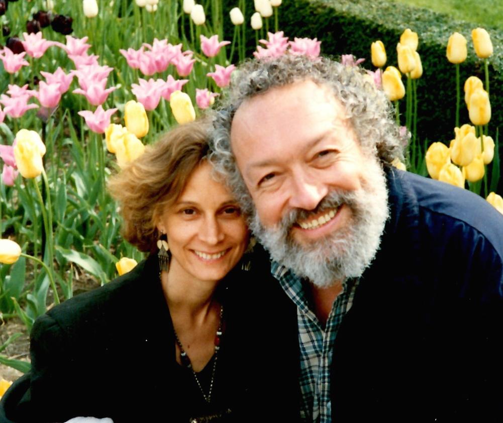 Not long after we met, Brooklyn Botanical Gardens, 1988