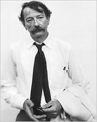 John Szarkowski, 1975, © Richard Avedon, courtesty Richard Avedon Foundation