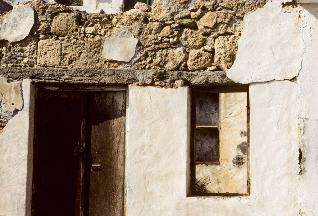 Stone house, Crete, 1983