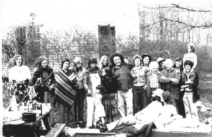 Teaching at Windham College, 1975