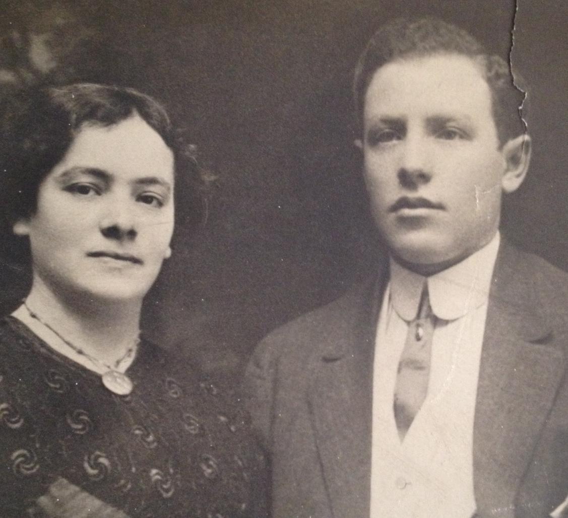My parents, Sophie Reich Feinstein and Louis Feinstein (date and photographer unknown)