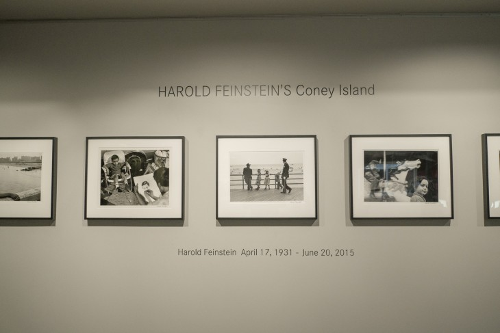 Harold Feinstein's Coney Island opened on September 3rd at Leica Gallery LA.