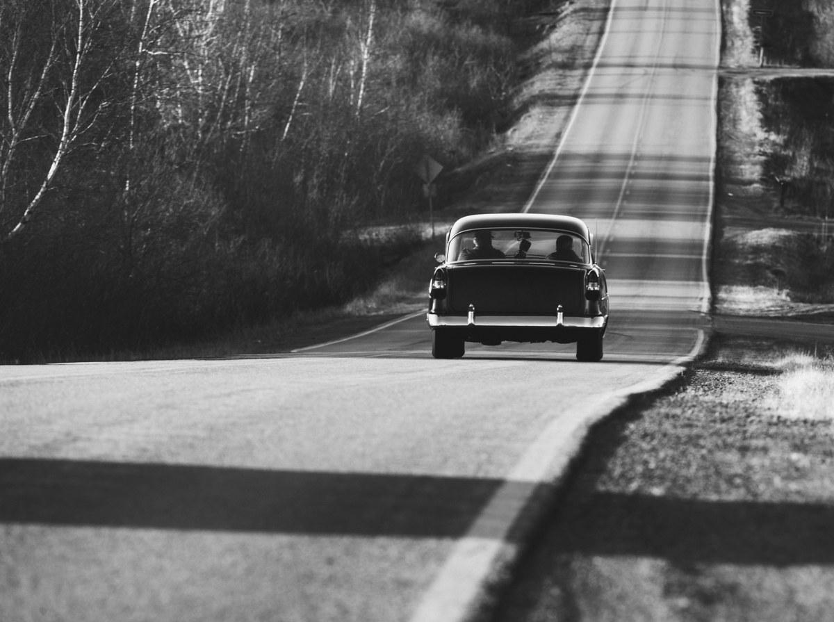 Driving down to Hattiesburg, 1964, © Herbert Randall