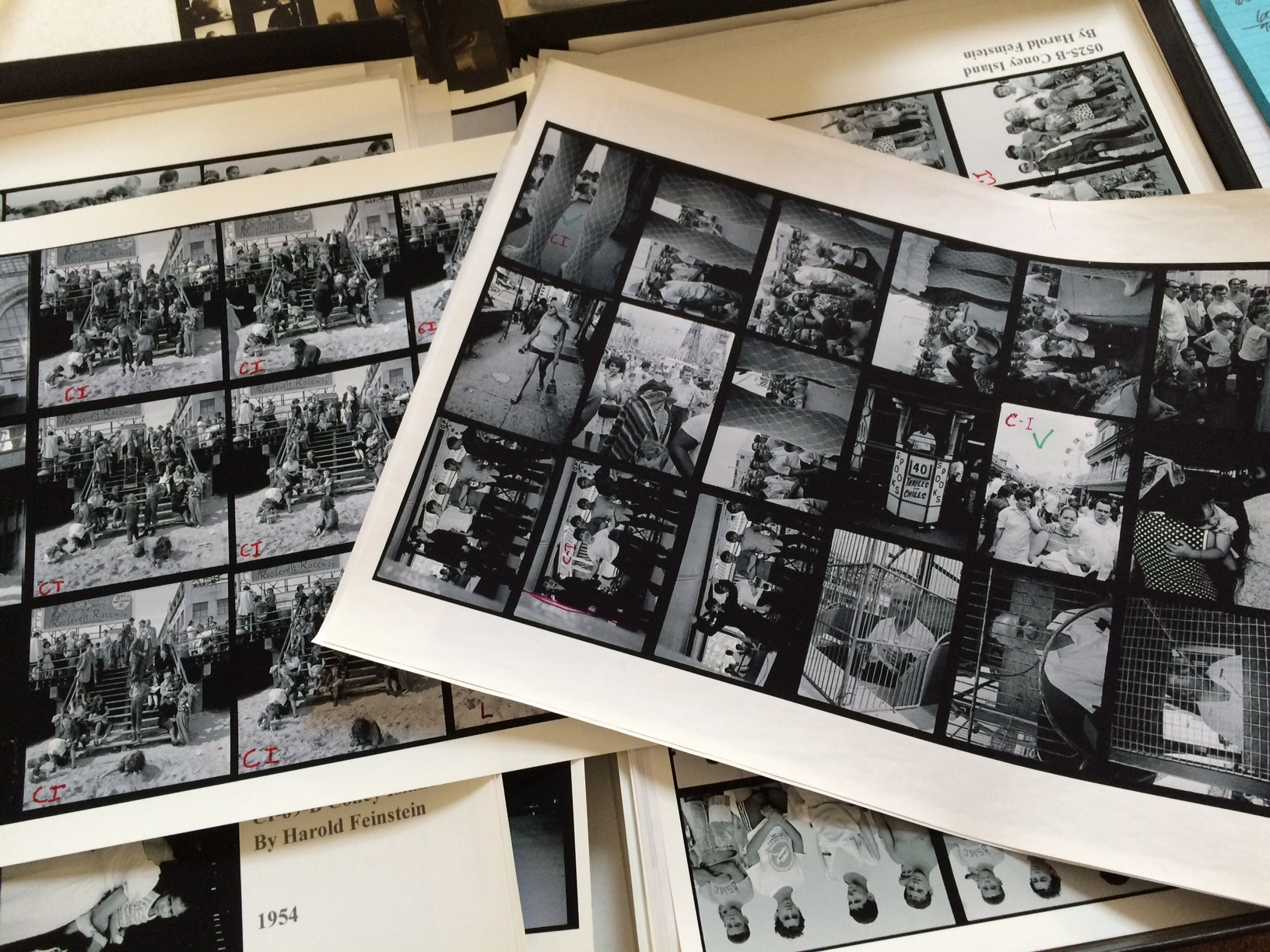 The 13x19 contact sheets