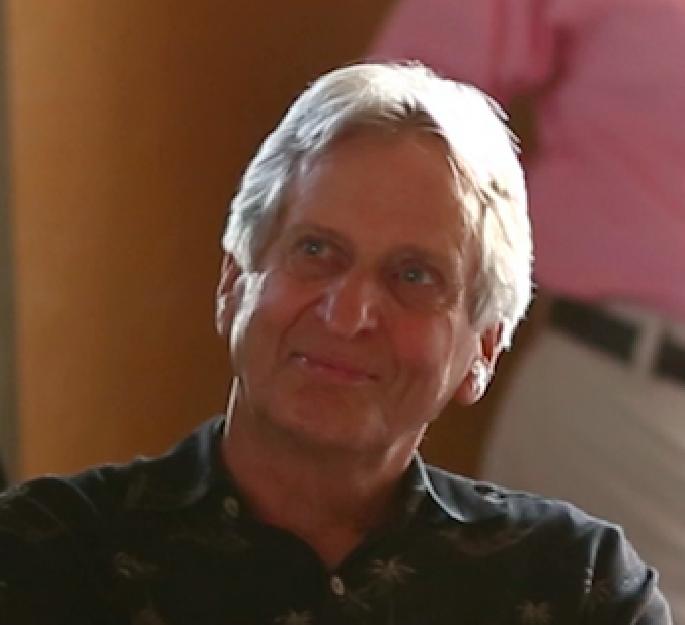 John Bell at Harold's Tribute party 2014