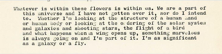 From Harold's notebook, 1975