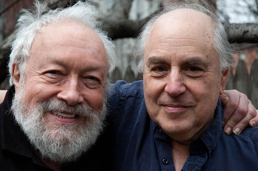 Harold Feinstein and Peter Angelo Simon, Brooklyn, 2008 ©Peter Angelo Simon